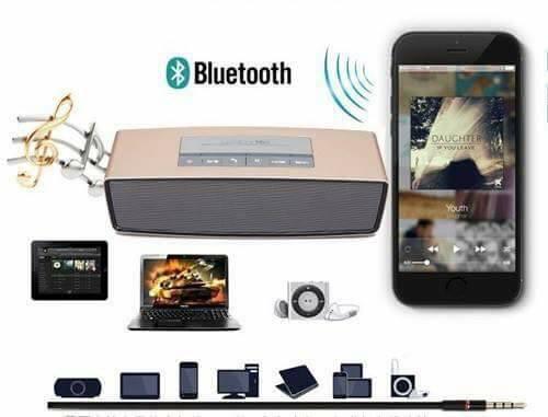 ลำโพงบลูทูธ Bluetooth Speaker Mini รุ่น S815 เสียงดี เบสแน่น