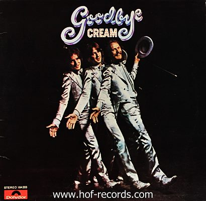 Cream - Googbye 1969 1lp