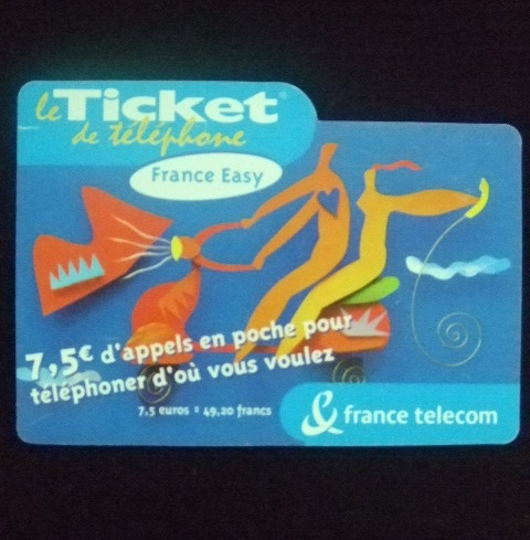 บัตรโทรศัพท์ประเทศฝรั่งเศส