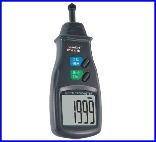 เครื่องวัดความเร็วรอบ เครื่องวัดรอบ DT-2235B Digital Contact Tachometer RPM Motor Milling Meterมิเตอร์วัดความเร็วรอบ มิเตอร์วัดรอบ