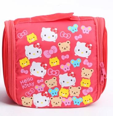 มีพร้อมส่ง :: กระเป๋า travel ลาย hello kitty