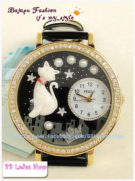 Pre-order: Aristocratic cat Mini watch