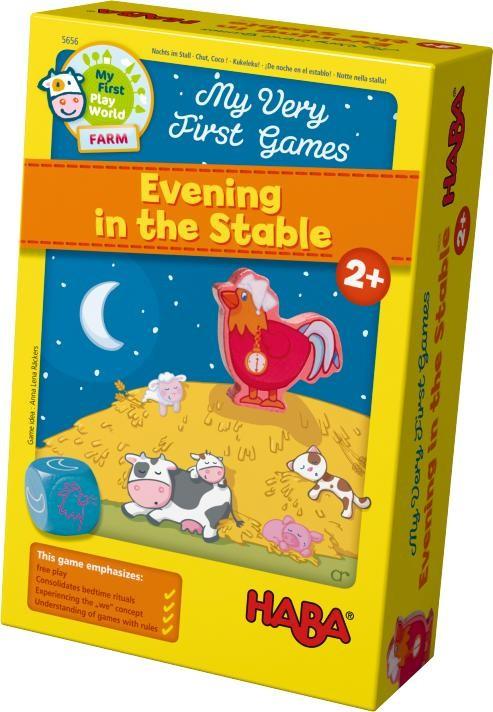 ของเล่นเด็ก ของเล่นเสริมพัฒนาการ My Very First Games - Evening in the Stable