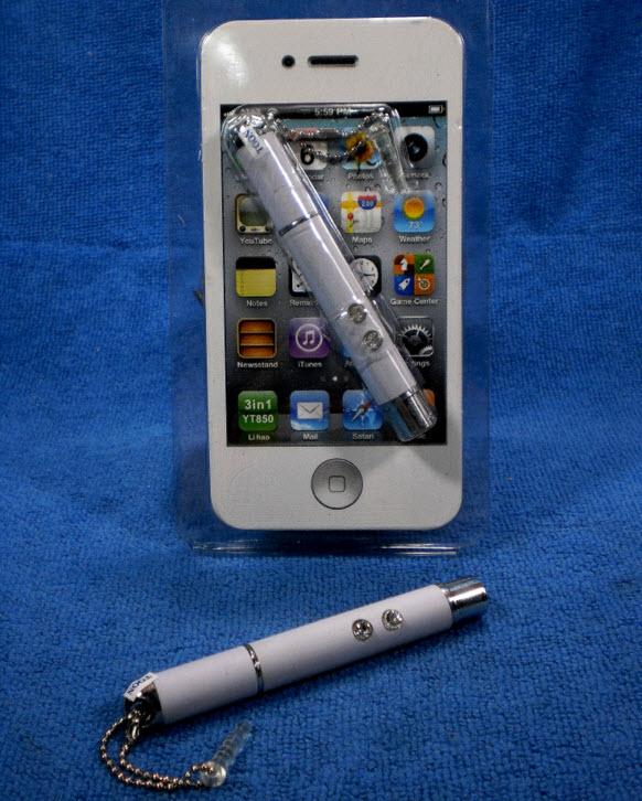 Touch Pen, Laser Pointer, Flashlight 3 in 1 YT850