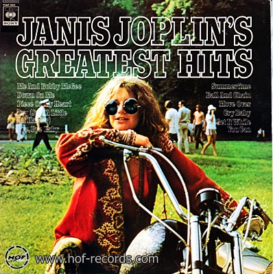 Janis Joplin's - Greatest Hits 1lp