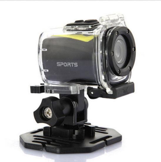 กล้องติดรถมอเตอร์ไซค์ หรือหมวกกันน็อค กันน้ำได้