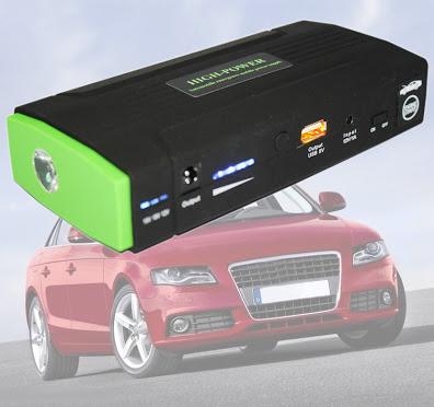 Power Bank Jump Start 40000 mAh เพาเวอร์แบงค์ สตาร์ทรถยนต์ได้ ชาร์จโน๊ตบุ๊ค Ipad, Iphone และมือถือเกือบทุกยี่ห้อ