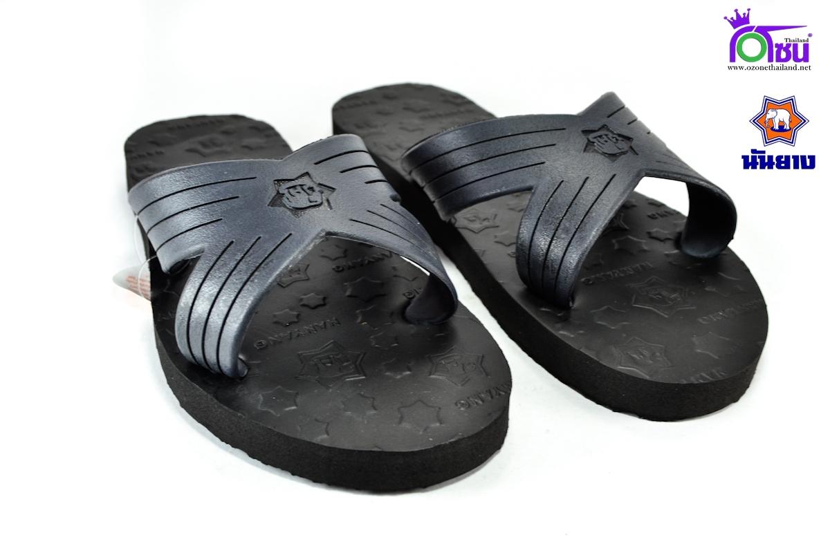 รองเท้าแตะช้างดาว เบอร์ 9,9.5,10,10.5,11 สีดำ สำเนา