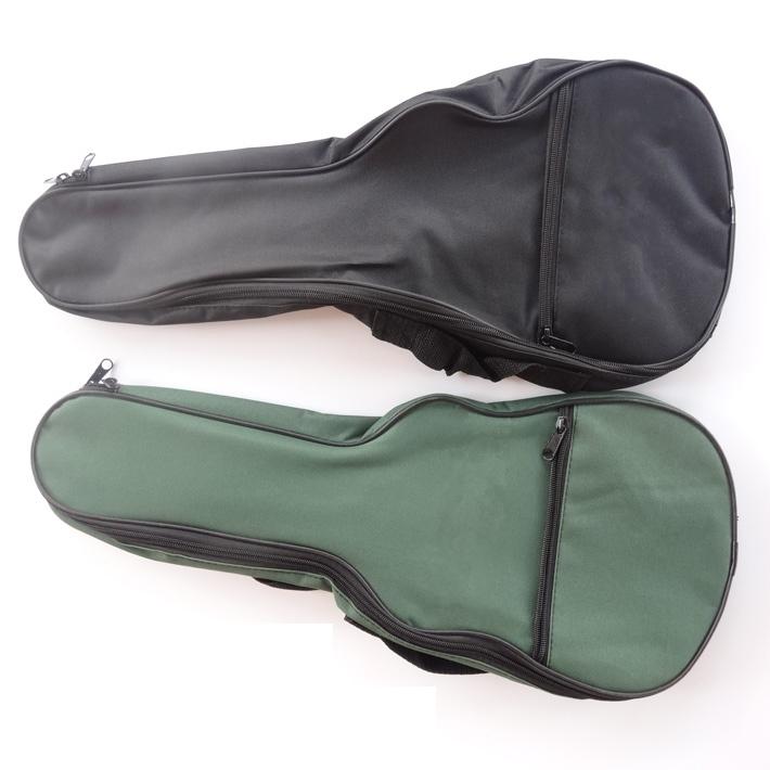 แถมฟรี กระเป๋า Ukulele ไม่บุฟองน้ำ ขนาด Soprano Concert สีเขียว และสีดำ