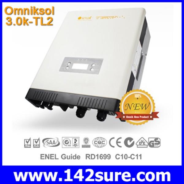 INV008 อินเวอร์เตอร์ โซล่าเซลล์ Solar Inverter Omniksol-3.0k-TL2-S PV-Generate Power 3000W เทคโนโลยีจากประเทศเยอรมนี(สินค้า Pre-Order)