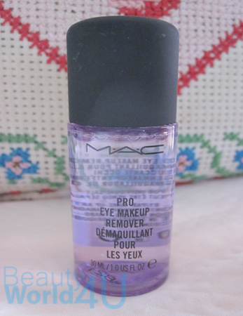 Mac pro eye makeup remover 30 ml. (ขนาดทดลอง)