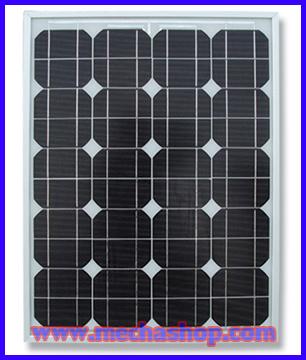 แผงโซล่าเซลล์ พลังงานแสงอาทิตย์ Monocrystalline silicon solar panel Module 50W (มาตราฐานยุโรป IEC TUV)แผงโซล่าเซลล์ ราคาพิเศษ