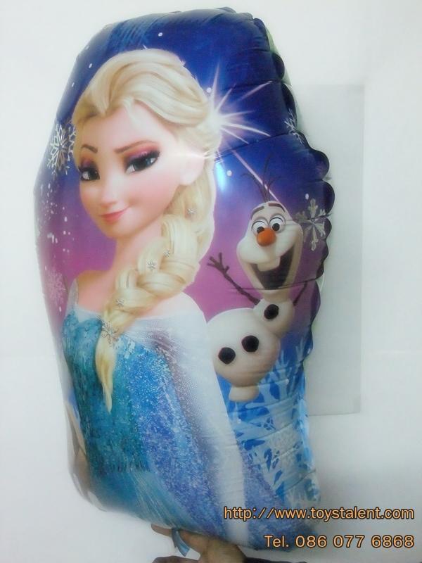 ลูกโป่งฟลอย์การ์ตูน เจ้าหญิงโฟรสเซนต์ - Frozen Princess Foil Balloon / Item No. TL-A096