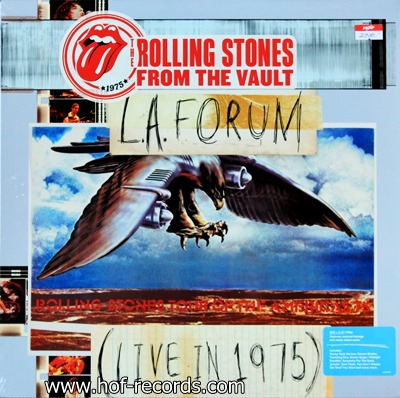 Rolling Stones - L.A. Forum Live In 1975 3lp N.