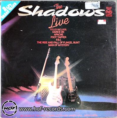 the shadows - live 2lp