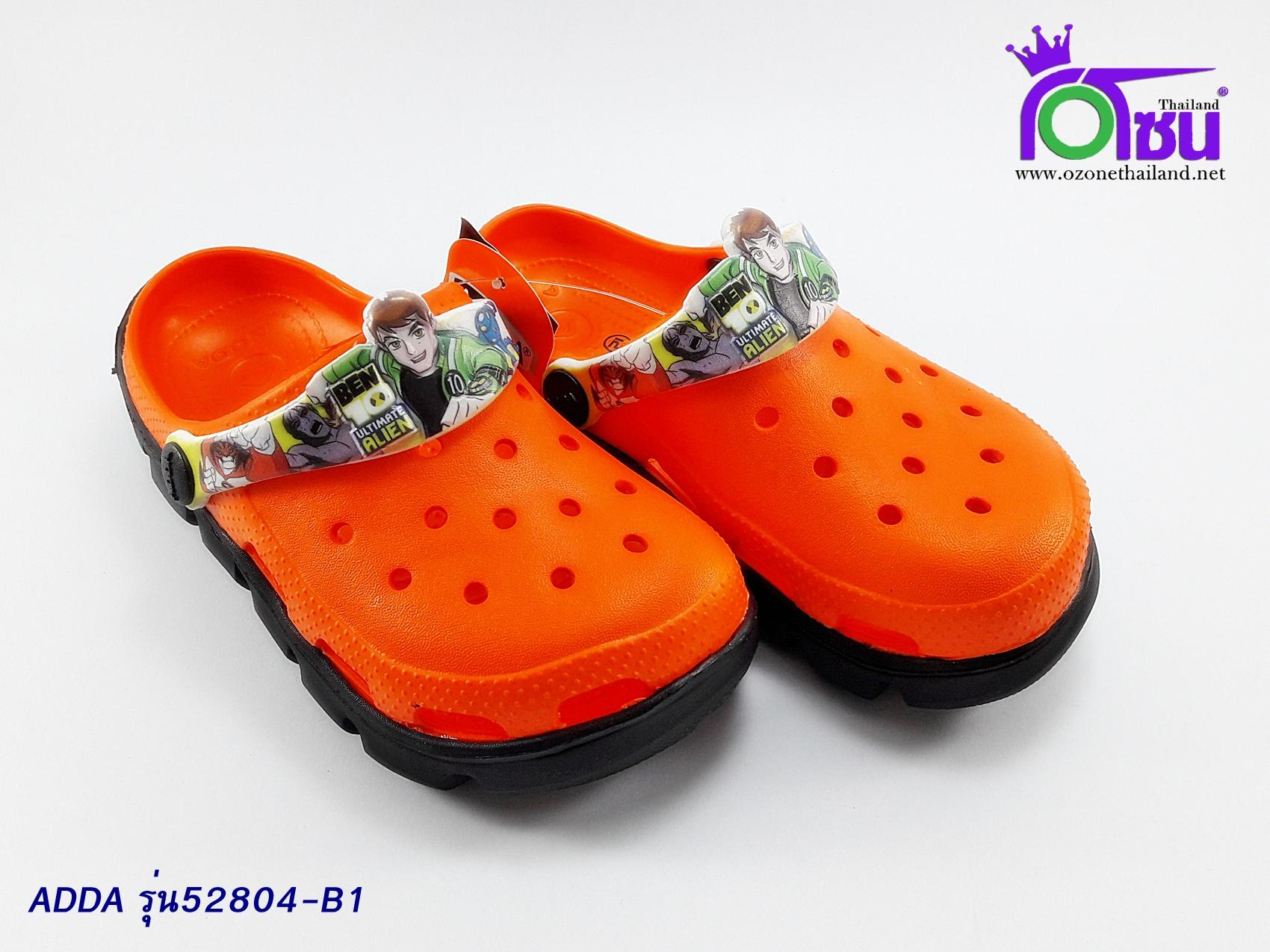 รองเท้า แอ๊ดด้า เด็ก ADDA รุ่น 52804-B1 สีส้ม เบอร์ 8-3