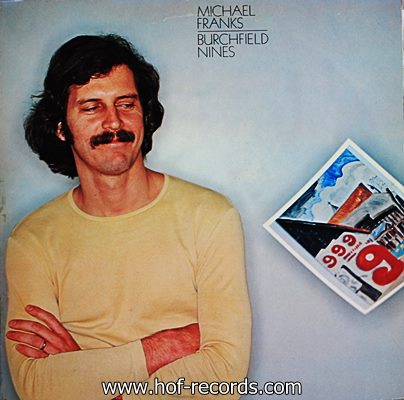 Michael Franks - Burchfield Nines 1978 1lp
