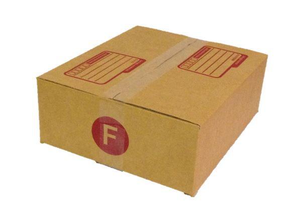 กล่องไปรษณีย์ฝาชน เบอร์ F ขนาด 31x36x13 เซนติเมตร