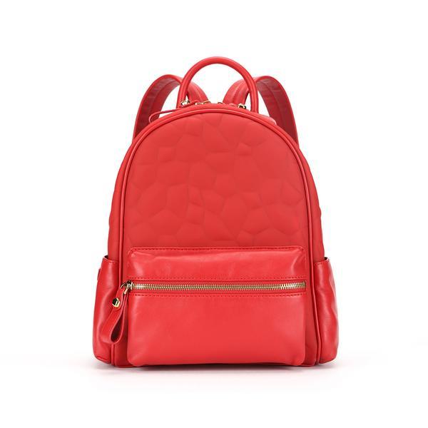 กระเป๋าแบรนด์เนม PISIDIA รุ่น SKIPPER mini สีแดง (ส่งฟรี EMS)