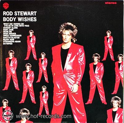 Rod Stewart - Body Wishes 1983 1lp