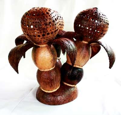 โคมไฟกะลามะพร้าว Coconut Shell Lamp