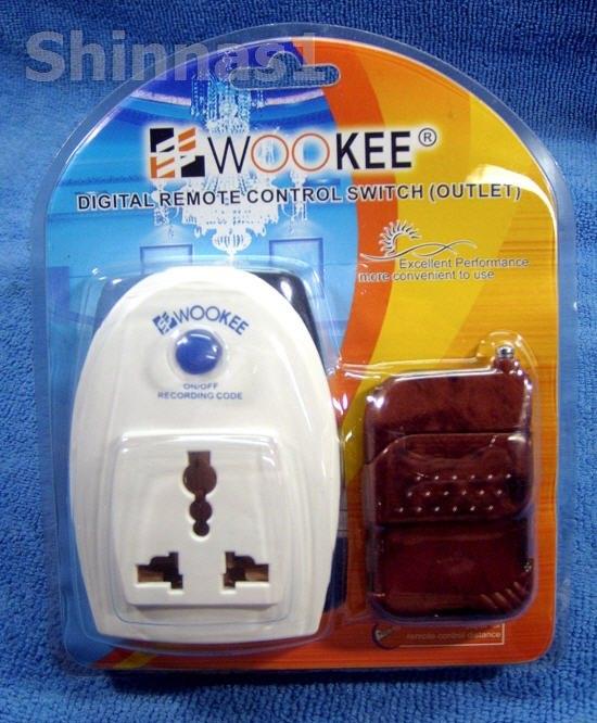 รีโมทคอนโทรล(เปิด-ปิด)เครื่องใช้ไฟฟ้า Wookee 700-A