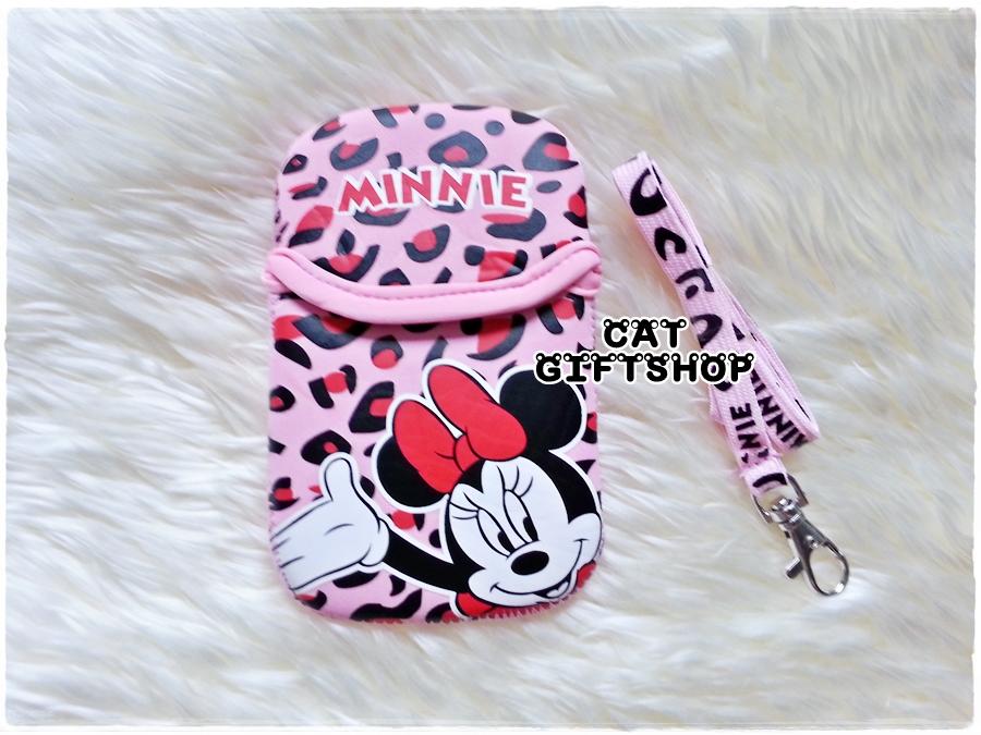 พร้อมส่ง :: ซองใส่มือถือ Minnie Mouse