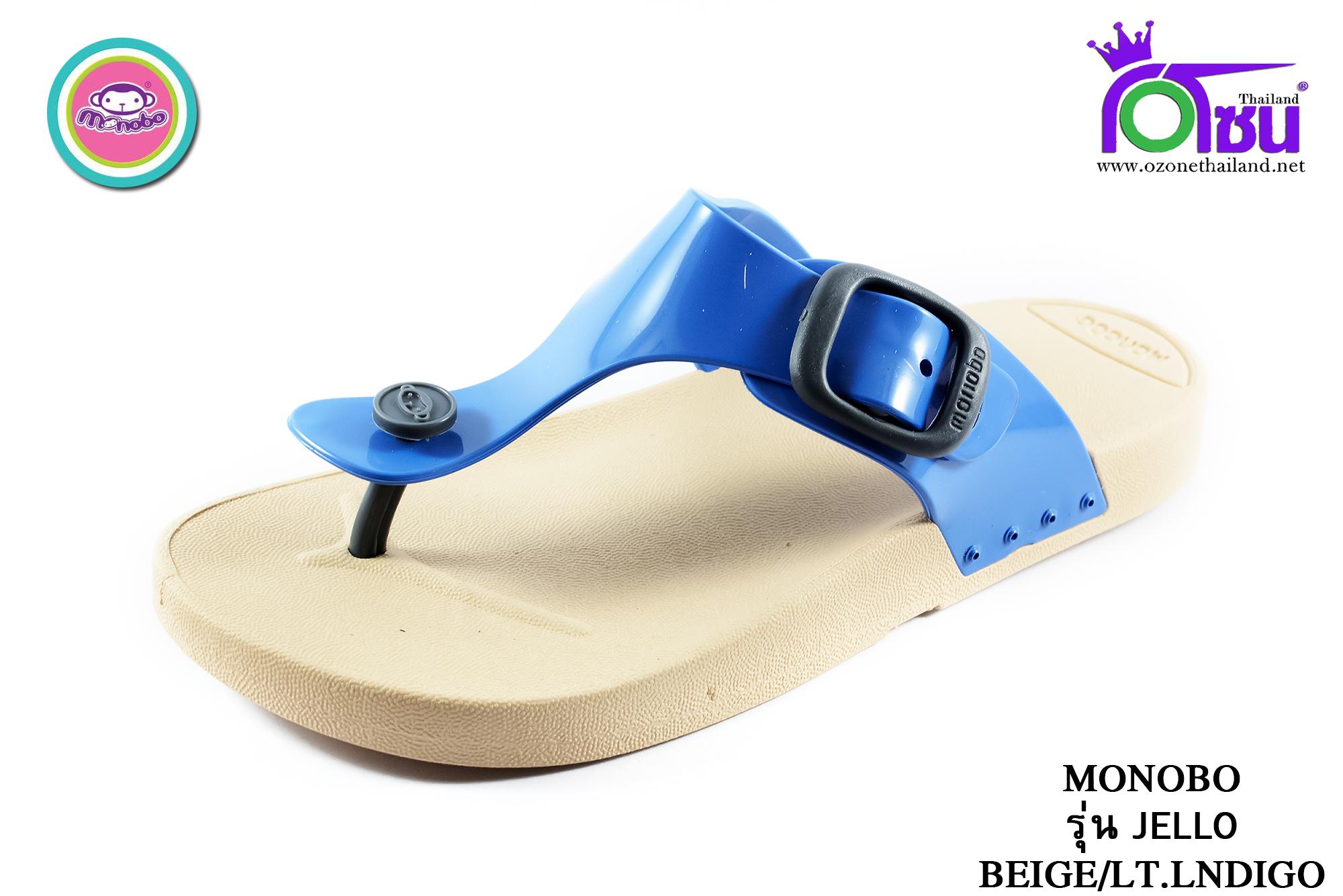 รองเท้าแตะ Monobo โมโนโบ้ รุ่น Jello เจลโล่ สีน้ำเงิน เบอร์ 5-8