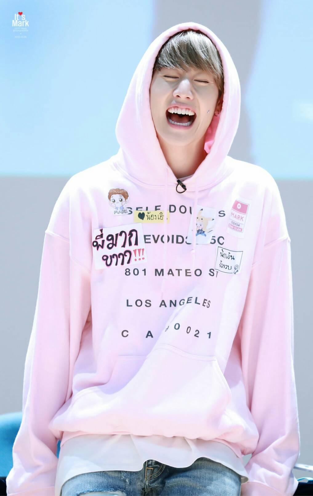 เสื้อแฟชั่นเกาหลี เสื้อฮูดแขนยาว เสื้อกันหนาวแฟชั่น GOT7 Mark
