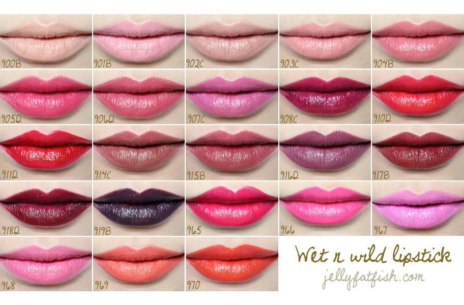 Wet 'n Wild lipstick ลิปสติกราคาถูก คุณภาพเทียบเท่าแบรนด์ดัง