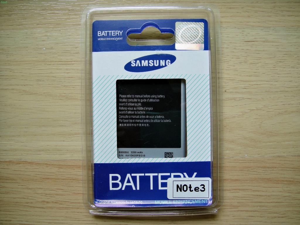 Samsung Battery แบตเตอรี่ Samsung NOTE3 เกรดเอ