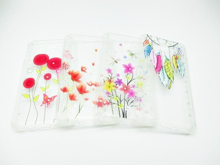 เคส tpu แต่งเพชร ลายดอกไม้ ซัมซุง เจ 7