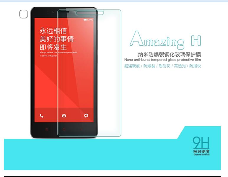 ฟีมล์มกระจก ฟิล์มกันกระแทก Nillkin 9H Xiaomi 1S, Xiaomi Hong mi