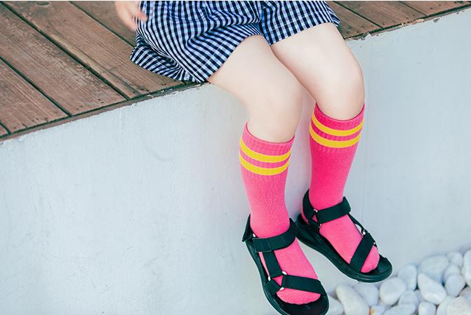 ถุงเท้ายาว สีโรส แพ็ค 12 คู่ ไซส์ M ประมาณ 3-5 ปี