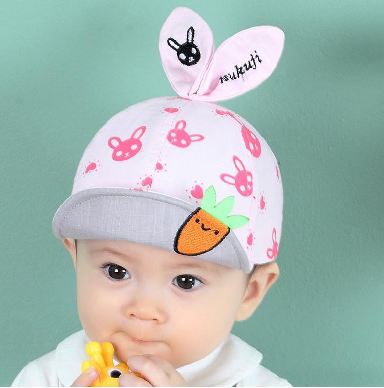หมวก สีชมพู แพ็ค 5ใบ ไซส์รอบศรีษะ 48-50cm