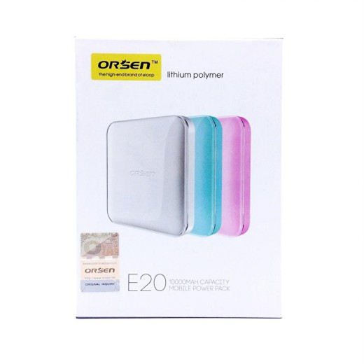 ORSEN E20/ELOOP E20 Power bank แบตสำรอง 10000 mAh
