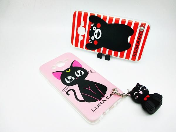 เคสซัมซุง J7(version2) ห้อยตุ๊กตาตั้งโทรศัพท์(ใช้ภาพรุ่นอื่นแทน)