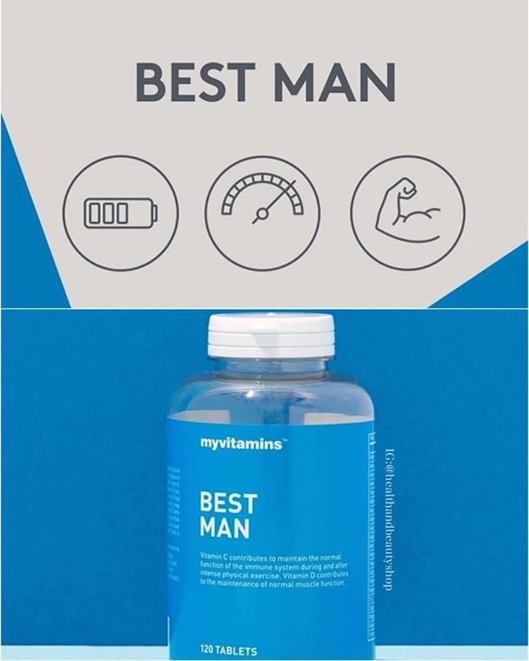 Myvitamins Best Man 60 Tablets