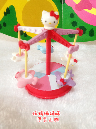Hello kitty amusement park figure model ตุ๊กตาโมเดลคิตตี้คอลเลกชั่นสวนสนุก