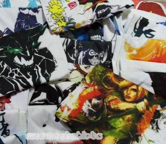 เสื้อยืดสีขาวสกรีนลายการ์ตูน หลากหลายลาย จัดพิมพ์เสื้อด้วยระบบดิจิดอล