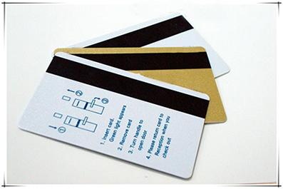 บัตรแถบแม่เหล็ก พื้นประกายเมทัลลิค