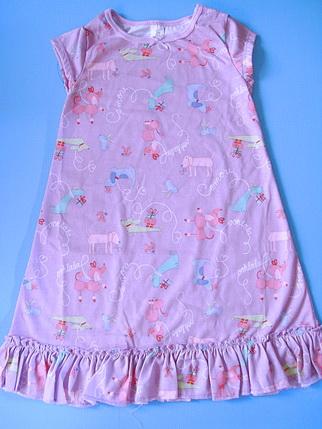 CTP027 Carter's ชุดนอนเด็กหญิง ชุดลำลอง สาวน้อย ผ้ายืดคอตตอน สีม่วง ลายน้องหมาน่ารัก Size 2T-3T