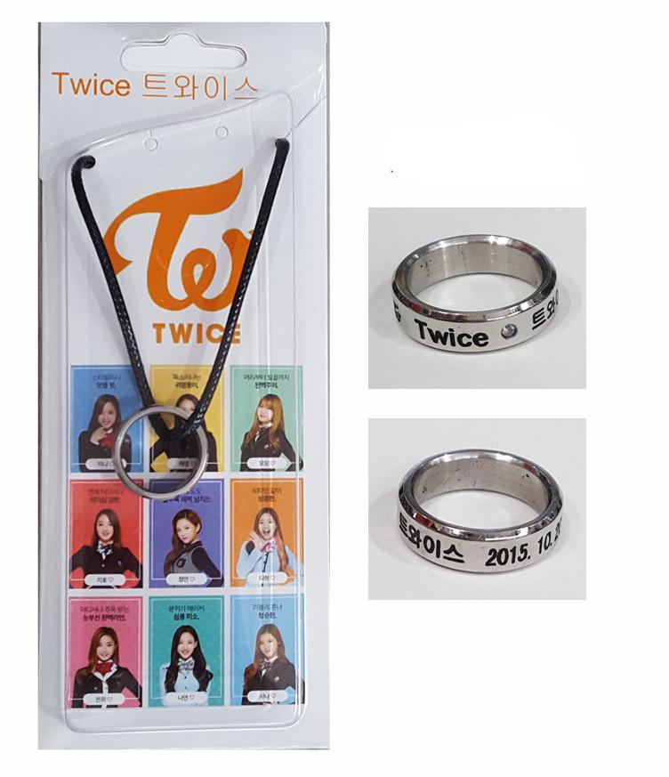 สร้อยคอแหวน Twice