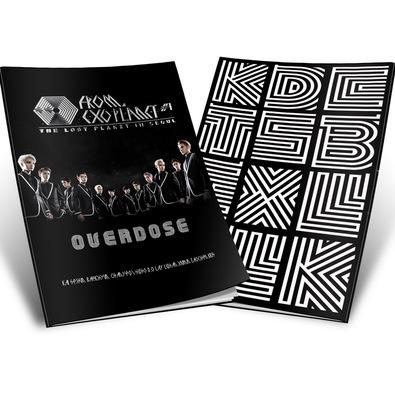 สมุดปกอ่อน EXO Overdose EXO The Lost Planet (ระบุหน้าปก)