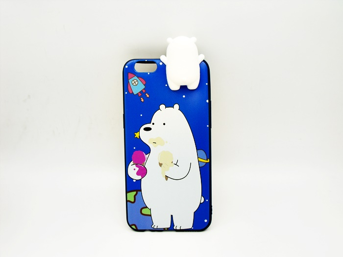 เคส tpu การ์ตูนหมีเกาะ OPPO A77(ใช้ภาพรุ่นอื่นแทน)