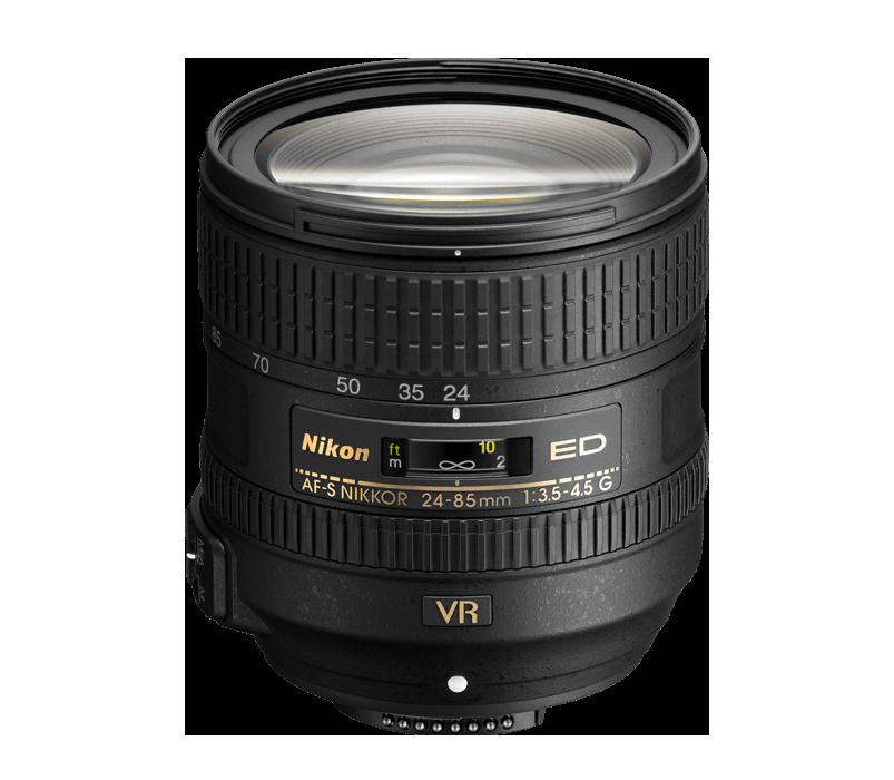 AF-S NIKKOR 24-85mm f/3.5-4.5G ED VR