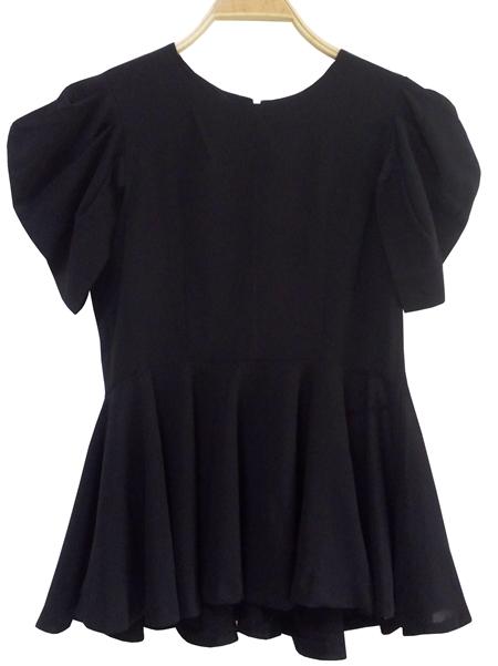 เสื้อดำ เสื้อวินเทจสีดำ งานญี่ปุ่น