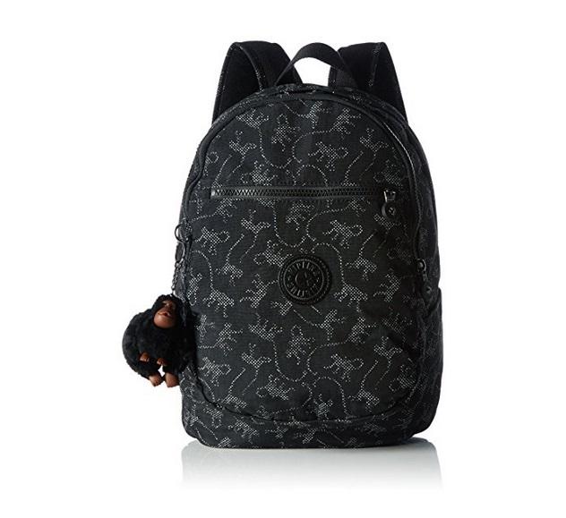 Kipling Clas Challenger Monkey Novelty กระเป๋าสะพายหลังขนาดกลาง ขนาด (W x H x D) 26 x 36 x 21 ซม.