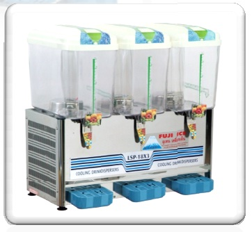 ตู้กดน้ำหวาน แบบน้ำพุ 3 โถ (12 ลิตร) ฟูจิไอซ์
