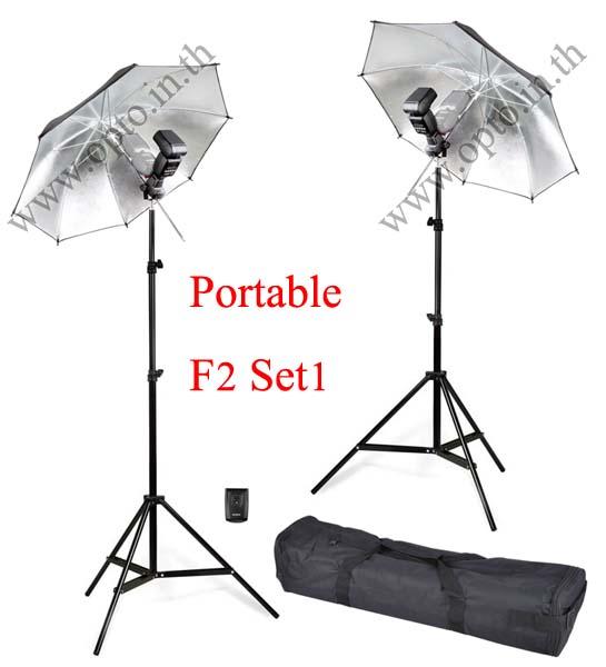 F2 Set1 Portable set Flash TT560 and Trigger MT-16